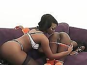 Ebony Monica Rae And Skyler Nicole Pussy Oral Lesbian