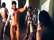 Ellen Hollman Foursome Sex Scene In Spartacus War Of The Damned