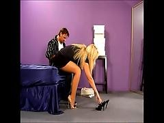 Bobbi Eden Kinky Pantyhose Sex