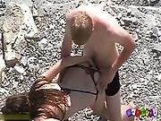 amateur,  ass ,  beach,  boob,  couple,  exhibition,  exgf,  nude,  nudist,  sexy,  sucking
