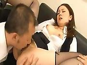 Office Pussy Rin Ayame Bonks Her Chief Inside Drilled Nylon
