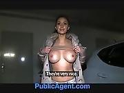 amateur,  amazing,  blonde,  blowjob,  boob,  cage,  cash,  cumshot,  outdoor,  pov ,  public,  reality