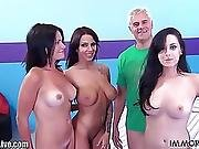 Immorallive Non-professional Groupsex With Massive Ding-dong