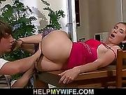 Sultry Wife Cheats Husband With Pizza Guy