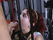 Skinny Chicks Gets Pounded In Jail