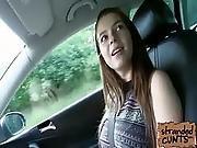 Teen Marina Visconti With Her Massive Tits Fucked On Car