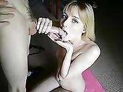 Step-sister Lisa Blowjob Handjob Facial