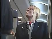 american,  horny,  stewardess