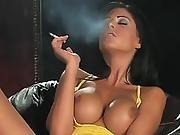 Ella Mai - Smoking Dildo Masturbation