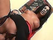 Amazing Brunette Riding Long Dick