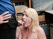 Fallon Love Get Caught And Screwed Her Wet Pussy Hard By Lps Cock