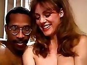 Woman Behind Bars Sucks Large Cock
