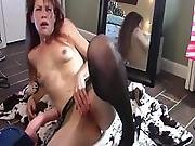 In Sexual Heaven With This Cock Device