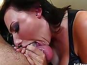 Seductive sluts sucking cock