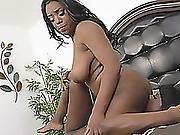 Black Bitches Engage In Some Hot Lesbian Sex