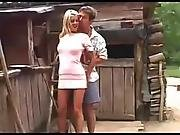Z44b 928 Romania Teen In The Barn Yard