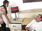 Young Horny Teen Pleasures A Big Cock
