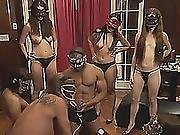 Masquerade With Amateur Swingers In Reality Show