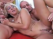 ass ,  ass to mouth,  blowjob,  cream,  double blowjob,  double penetration,  gangbang,  mom ,  penetration,  pussy,  pussy to mouth