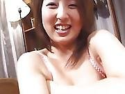 Hawt Moemi Takagi Acquires Her Unshaved Love Tunnel Fucked With Different Toys