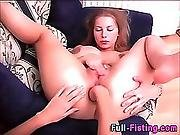 Teen Gets Anal Fisted