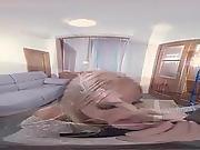 Sexlikereal- Blonde Russian Babe Swallos Cum In Pov´ 180vr 30 Fps Ddf Prod
