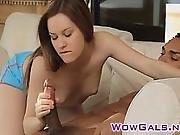 Zoe Blows Cock And Gets Facial