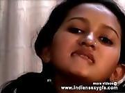 Horny Indian Pornstar Babe As School Girl Squeezing Big Boobs And Babe Masturbating Part2 - Indian