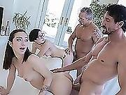 Amazing Hot Chick Lily Jordan Fucking A Big Dick