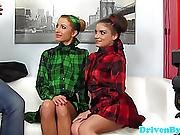 Young Euroteen Models Have Practice Threeway