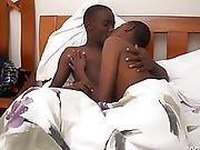 Darksome Africans Fynn And Addae Bareback