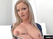 Sunny Diamond Pleasuring Herself Mastubrating With Fingers