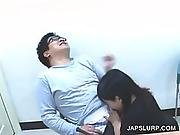 asian,  at work,  brunette,  fetish,  hardcore,  horny,  japanese,  sucking,  workplace
