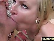 Sex Casting With Beautiful British Ballsucker