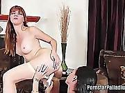 Lesbian Pornstars Licking Pussy