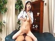 Japanese Av Model Nurse Has Cunt Licked Fingered And Fucked