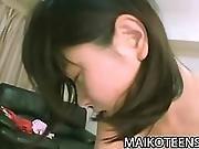 Makoto Kamo - Petite Japan Teenager First Time Sex
