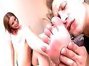 Jasmine Has Her Feet Savored