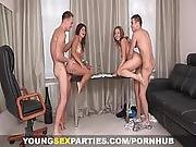 Young Sex Parties   Girlfriends Fucked Like Sluts