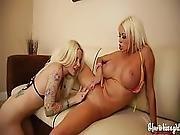 Lesbian Blondies Nikita Von James Helly Mae Hellfire