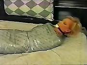 Mummified Girl Is Hot And Sweaty