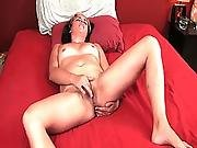 anal,  brunette,  gorgeous,  masturbation,  milf,  pussy,  solo,  trimmed