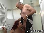amateur,  anal,  cheating,  dad ,  doggystyle,  facial,  fucking,  grandpa,  hardcore,  old ,  pee ,  piss,  redhead,  shaved