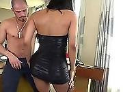 Anal,big Cock,brunette,shemale,tranny