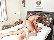 Gorgeous Shemale Kananda Gets Her Butt Fuck By Her Hunk Lovers Big Dick