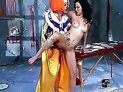 clown,  couple