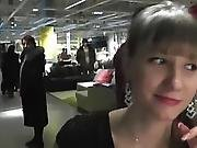 Angel-desert - Spermawalking In Swedish Furniture Store