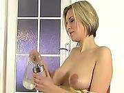Pee Fetish Hottie Blonde Fingers Herself