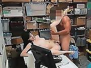 Shoplifter Alex Harper Teen Fucking Cock Office