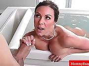 Cougar Milf Introduces Teen To Fucking